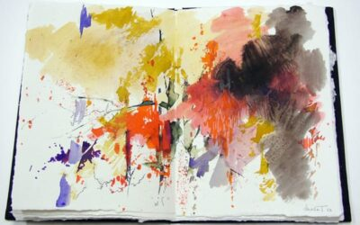 'Ámbito': poemas de JOSÉ ÁNGEL GARCÍA y acuarelas de MOSET