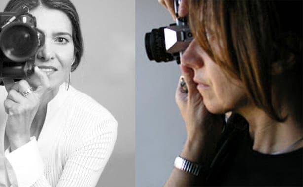 Julia G. Liébana y Esther Santás.