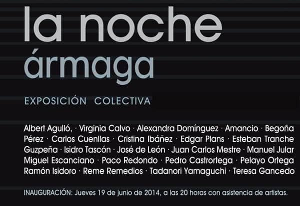 22 artistas de Ármaga interpretan la noche