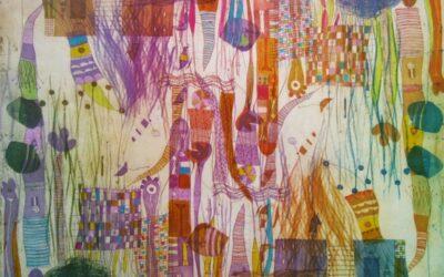 Grabados y pinturas de Alexandra Domínguez