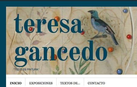 Blog de la pintora Teresa Gancedo.