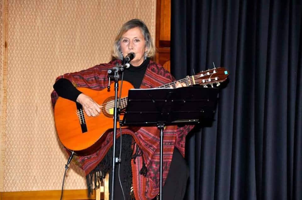 La cantante asturiana Laina Cores.