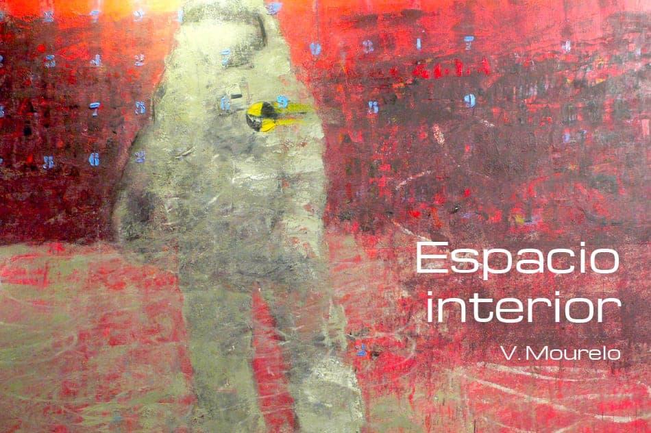 """Secuela de """"Stand by Pass"""", expuesta por vez primera en la Galería Juan Manuel Lumbreras de Bilbao dentro de la muestra """"Homenaje a Tapies"""" y argumentario principal que sirve de base a esta nueva serie, """"Espacio interior"""", y que sienta la que será la base de la propuesta artística de Vázquez Mourelo para los próximos años."""