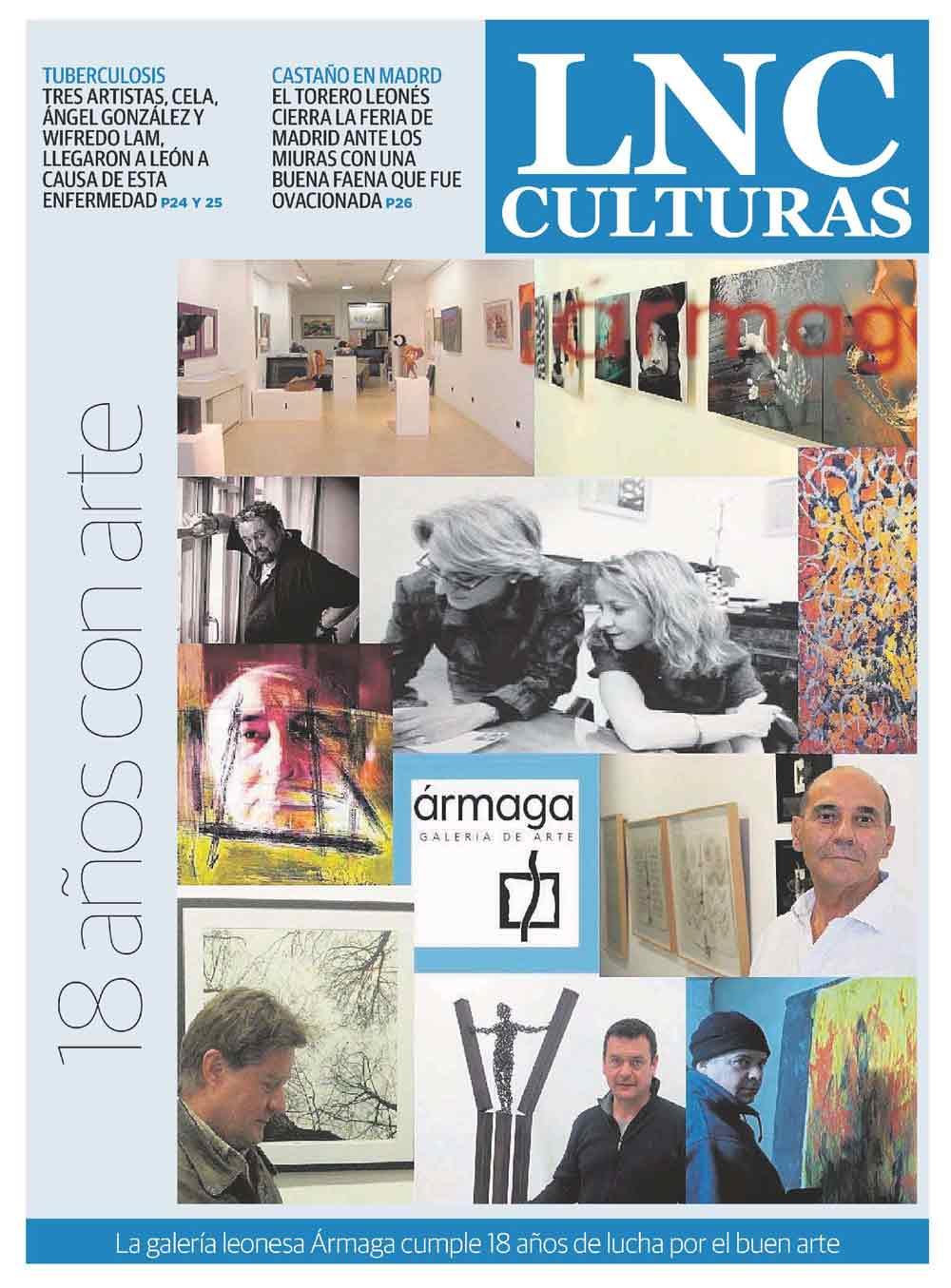 Portada del reportaje en La Nueva Crónica.