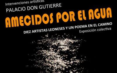 «Amecidos por el agua». Diez artistas y un poeta en el Palacio de Don Gutierre