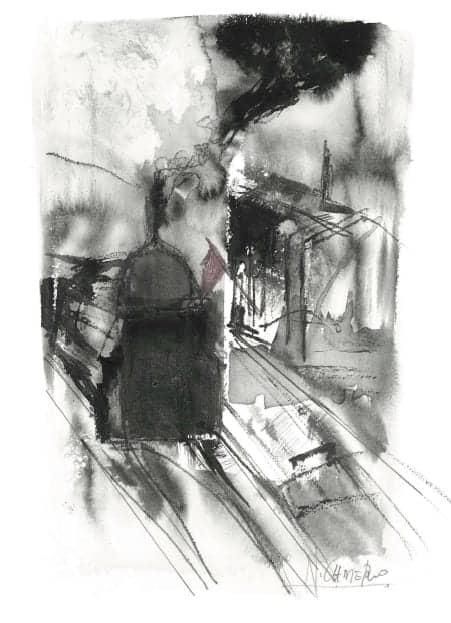 Ilustración de Nuria Cadierno para el libro.
