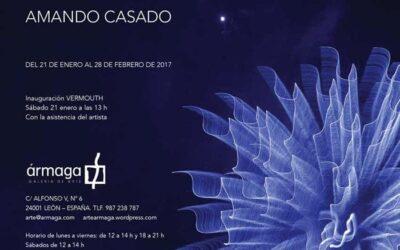 Escrituras de luz. Una exposición del fotógrafo Amando Casado abre el año 2017 en Ármaga