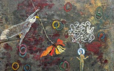 Teresa Gancedo desvela su intimidad pictórica en la galería Ármaga