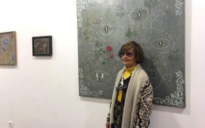 La pintora Teresa Gancedo en un artículo de Ana Gaitero