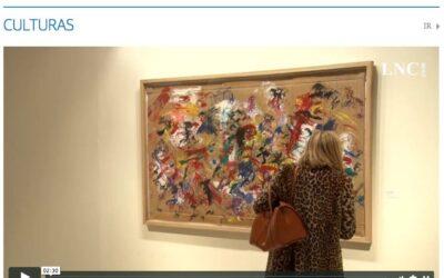 """David Colinas: """"Mi relación con la pintura es de felicidad total"""""""