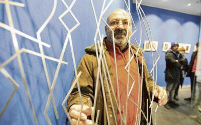 """ESTEBAN TRANCHE en 'La Nueva Crónica': """"No sé si pintar es lo que me ha obligado a viajar o precisamente porque viajo pinto"""""""