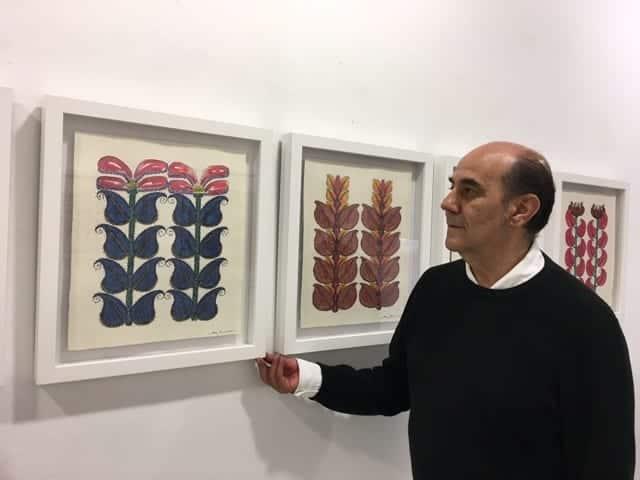 Miguel Escanciano puebla sus 'Jardines Metafóricos' de pictogramas poéticos
