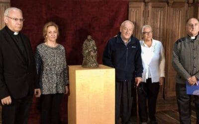 La escultura moderna se cuela en la 'Pulchra' / Donación de Ármaga al Museo de la Catedral de León