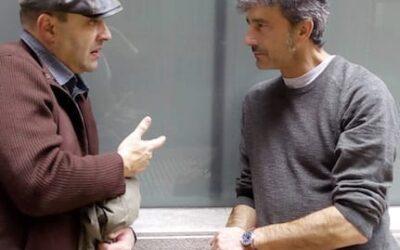 «Cancamusa», una lectura de Víctor M. Díez con pase de fotos de José Ramón Vega, en Ármaga