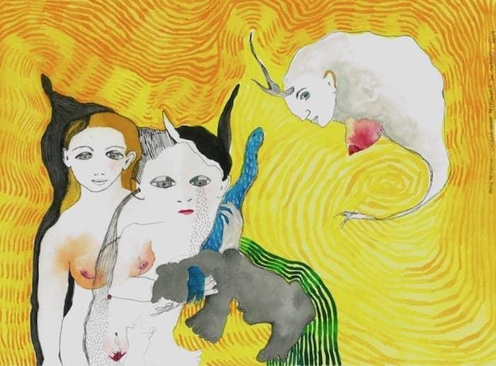 Reme Remedios inaugura una exposición de acuarelas y dibujos en la galería Ármaga