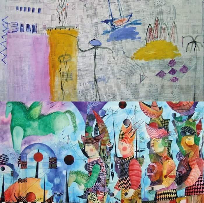 «Territorio de las ensoñaciones», una exposición de Alexandra Domínguez y Juan Carlos Mestre en la galería Ármaga