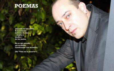 «Poesía y vino», con Víctor M. Díez, el 19 de septiembre en Ármaga