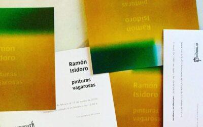Las melancólicas «Pinturas vagarosas» de Ramón Isidoro calientan el invierno en Ármaga