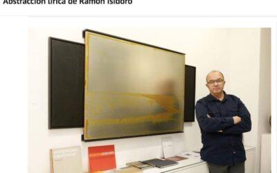 Abstracción lírica de Ramón Isidoro (en Diario de León)