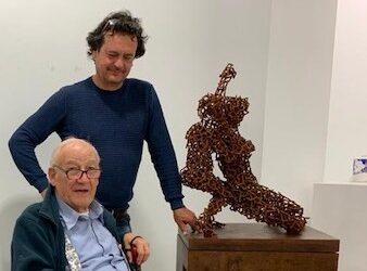 Amancio rinde homenaje a su maestro, el pintor Alejandro Vargas, con la exposición «Clásicos de la pintura»